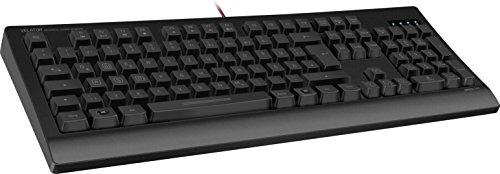 Speedlink Mechanische Gamer Tastatur für PC / Computer - Velator Gaming Keyboard USB (16-Tasten-Rollover-Technik - konfigurierbare Tasten - 5 Profile, 6 Makro-Tasten, Anti-Ghosting, Rollover-Technik) schwarz