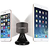 Stuffcool Mag Hold Magnetic Universal Car Mount Holder for All Smartphones, Tablet and iPad - Black