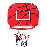 Alomejor Mini Kinder Basketball Spielzeug Set Indoor Einstellbare Federung Basketballkorb und Ball Set für Kleinkinder Jugend(Kunststoffhaken)