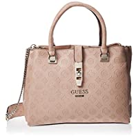 Guess Womens Peony Classic Tote Bag, Latte - SG739807