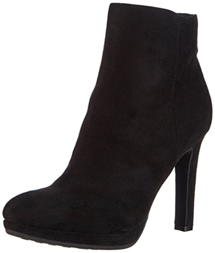 Buffalo Shoes Y436-51B P1804A IMI SUEDE, Damen Kurzschaft Stiefel, Schwarz (BLACK 01), 38 EU