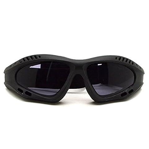 mark8shop Motorrad Brille Gläser Smoke Objektiv Motorrad Racing Gläser