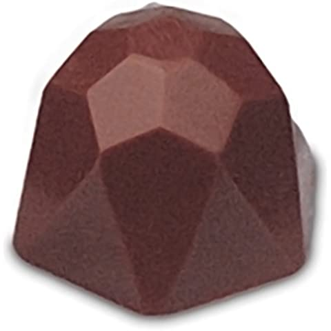JB Prince Geodesic Dome Chocolate Mold - 40 Forms by JB (Form Dome)