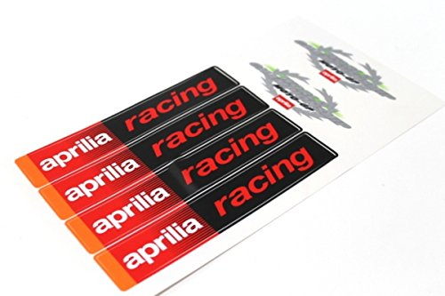 Aufkleber Satz Sticker Set Moto GP Aprilia SR 50 RS 125 Roller Motorrad #6
