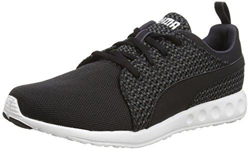 puma-carson-runner-knit-zapatillas-para-hombre-blu-blau-periscope-black-03-talla-41
