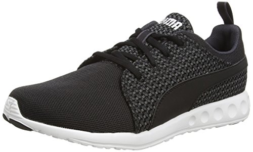 Puma Carson Run Knit - Sneakers Basses - Homme - Noir (Periscope-Black) - 40 EU (6.5 UK)