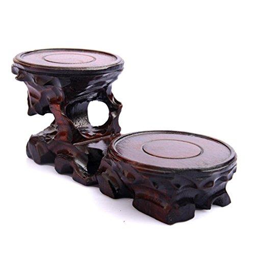 Vase Boden Holz Schnitzereien Bonsai Stent Jade Regalen Teekanne Sitz Root Carving Boden