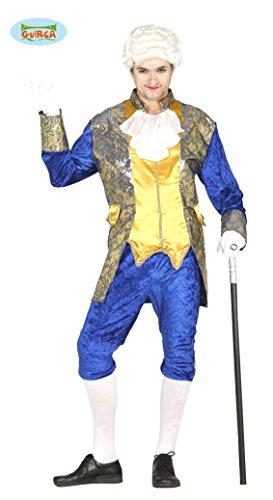 Fiestas guirca costume marchese conte nobile uomo veneziano blu