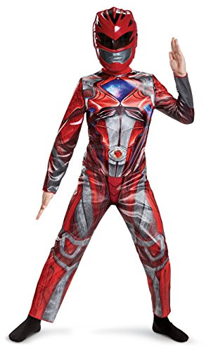 Red Ranger 2017 Classic Costume Child - Red Power Halloween-kostüm Ranger