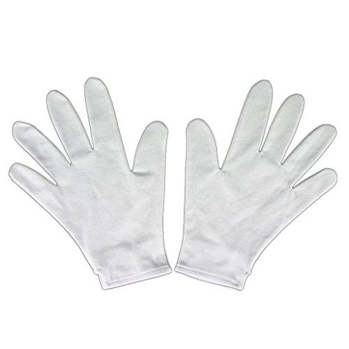 De-Cos D.gray-man Accessory Allen Walker Exorcist White Gloves 3rd (Man Walker Allen Gray Kostüme D)