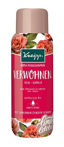 Kneipp Aroma-Pflegeschaumbad Verwöhnen, 3er Pack(3 x 400 ml) (Schaumbad Rosen)