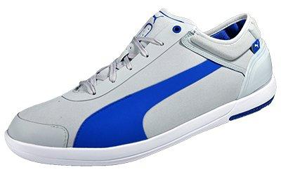 Puma Driving Power Light low Schuhe EUR 40,5 UK 7 grau/blau Sneaker Turnschuhe Cat - Driving Sneaker