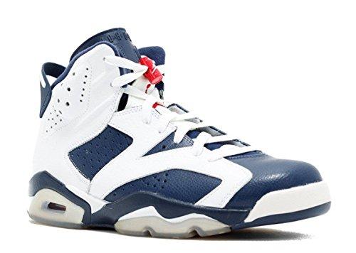 Air Jordan 6 Retro 'Olympic 2012 Release' - 384664-130 - Size 10.5 -