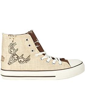 Herren und Damen Sneaker braun G