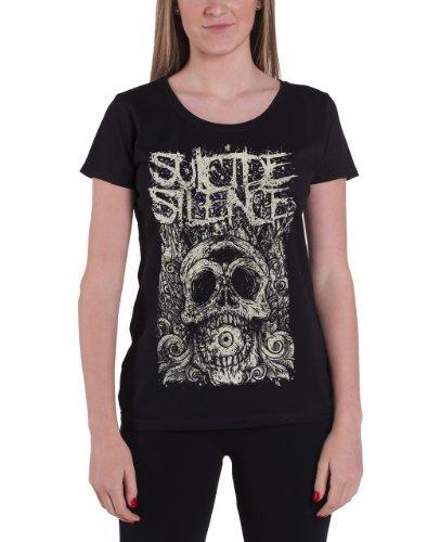 Suicide Silence - Top - Maniche corte  - Donna nero X-Large