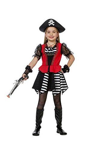 ,Karneval Klamotten' Kostüm Piratin Mädchen Grace O Malley Kostüm Karneval Abenteuer Mädchenkostüm 116