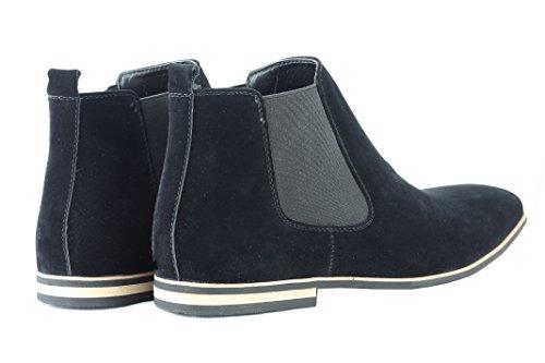 Xposed , Boots montantes Chelsea homme Noir