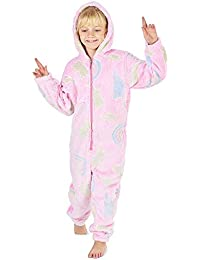 Pijamas de un Pieza Niño Niña Unicornio Conejo Koala Perro Gato Dinosaurio Pingüino Pijama Niños Niñas