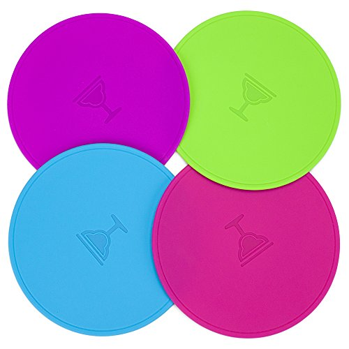 Drink Tops MOD Tap & Seal Outdoor Silicone Drink Covers, (Large) by Drink Tops Silicon Top