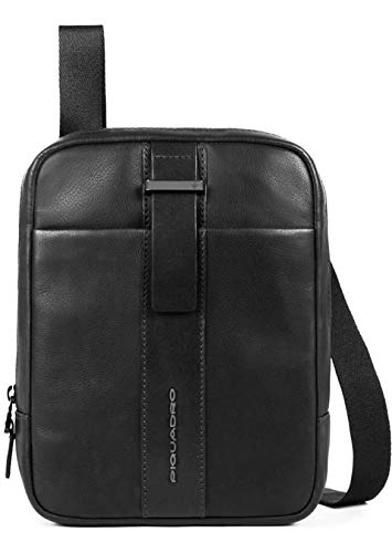 Piquadro Bae Umhängetasche schwarz (Bag Messenger Sorrentino)