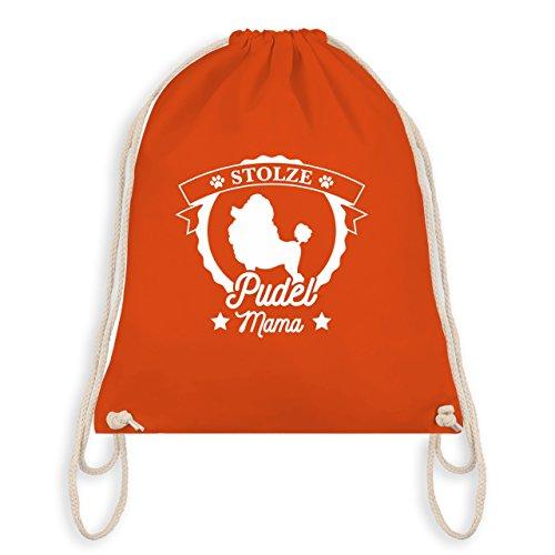 I Bag Pudel Mama Hunde Gym Turnbeutel Orange Stolze awAYOxqFOI
