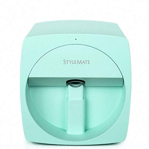 Impresoras de uñas en 3D Máquina de pintura portátil Transferencia inalámbrica móvil automática Impresoras digitales de uñas totalmente inteligentes,Green