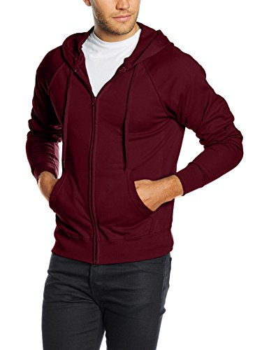 fruit-of-the-loom-ss069m-sudadera-para-hombre-rojo-burgundy-x-large