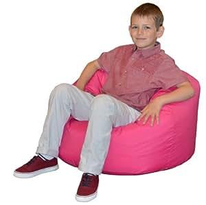 gilda enfants et adolescents bean bag pouf poire rose chaud fresco id al pour l 39 int rieur et l. Black Bedroom Furniture Sets. Home Design Ideas