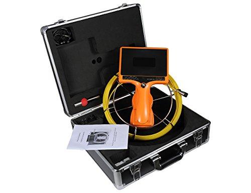 TIANG Cámara alcantarillado Manual DVR medidor Distancia/endoscopio
