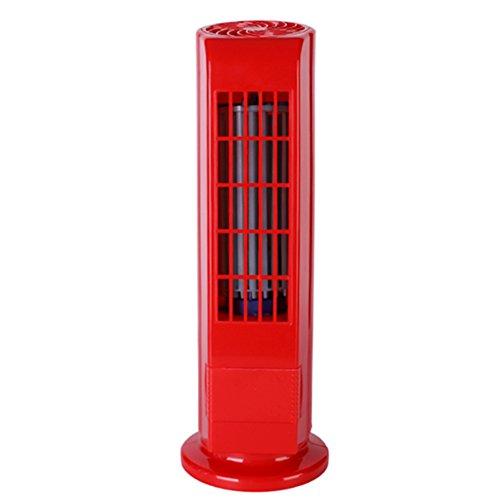 G.Wei Turm Fan Heim Stille Ionen Fan Büro Schlafsaal Kahler Fan - USB,Red
