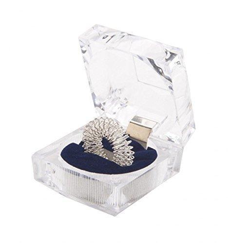 chi-enterprise Fingermassagering Silber groß in der Schatulle