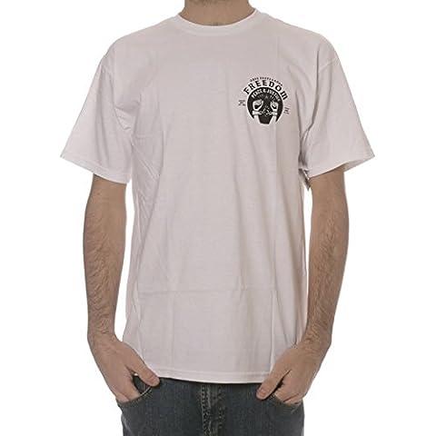 Camiseta Obey: Freedom Cuffs WH