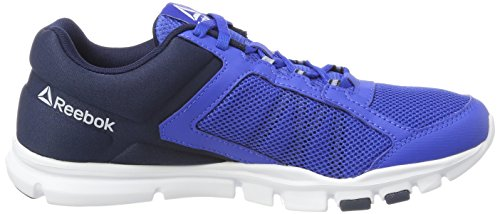 Reebok Yourflex Train 9.0 Mt, Scarpe da Ginnastica Uomo Blu (Vital Blue/collegiate Navy/white)