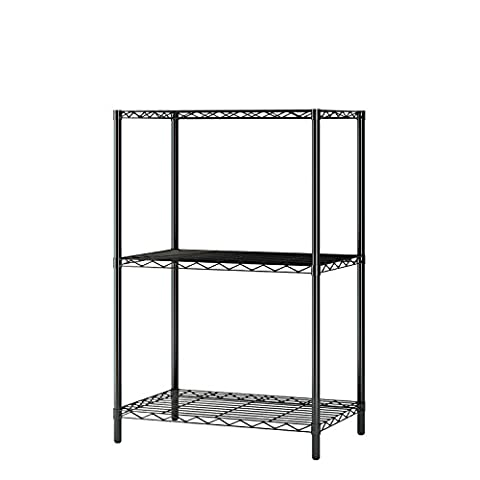 Home-Like 3-Tier Draht Regal Mini und robuste Storage Rack für