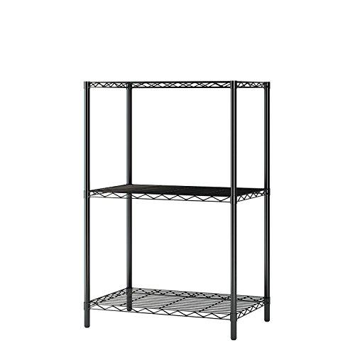 Home-Like 3-Tier Draht Regal Mini und robuste Storage Rack für Küche Arbeitszimmer Garage 53.5x35x81.5cm