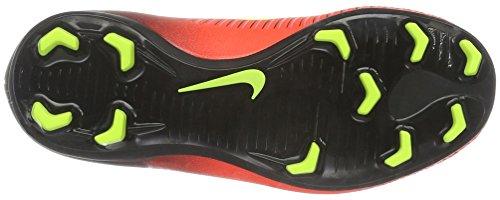 Nike Boys' Jr Mercurial Vapor Xi Fg football boots, Orange (Total Crimson / Vlt-Blk-Pnk Blst), 3.5 UK(36 EU)