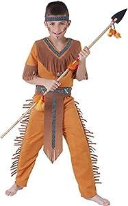 Rubies - Disfraz de indio Sioux, para niños, talla L (S8424-L)