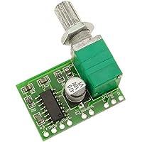 BeMatik - PAM8403 Audioverstärker. 5V 3W + 3W. mit USB-Unterstützung. Modell DW-0879