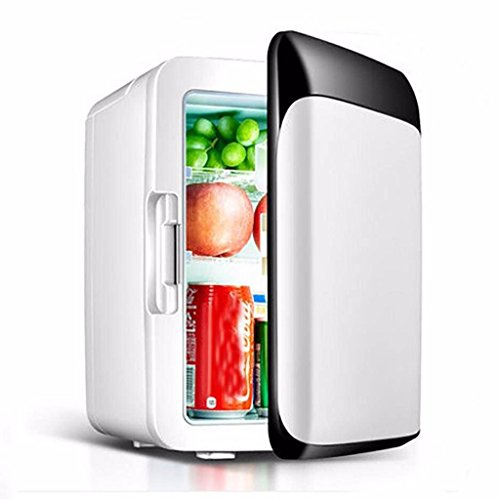 QIHANGCHEPIN 10 L Auto Kühlschrank 220 V/12 V Mini Kühlschrank Gefrierschrank Auto/Home Dual-use Kleine Kühlschrank Cold Box Warmer Box