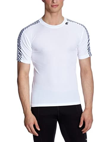 Helly Hansen Lifa Dry Stripe T-Shirt - White Small