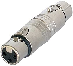Neutrik NA3FF Adapter XLR female auf XLR female
