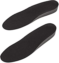 Men Height Increase Insole Full Length Breathable Comfort Lifts/Heel Inserts - 1 Inch Taller IK206