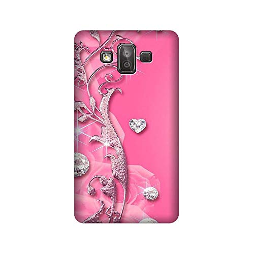 Aarfa Hard Plastic [for Girls Boys] Printed Back Cover for Samsung Galaxy J7 Duo