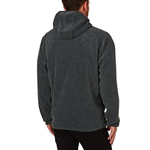 Dickies 'Edgewood' Zip Hood. Dark Grey Melange. Dark Grey Melange