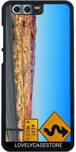 Hülle für Huawei Honor 9 - Straße USA USA Drehen Vereinigte Staaten Wüste Arid Sun Sky Blue