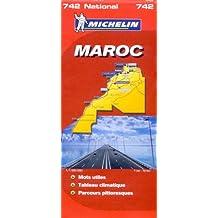Carte routiere 742 maroc 2008