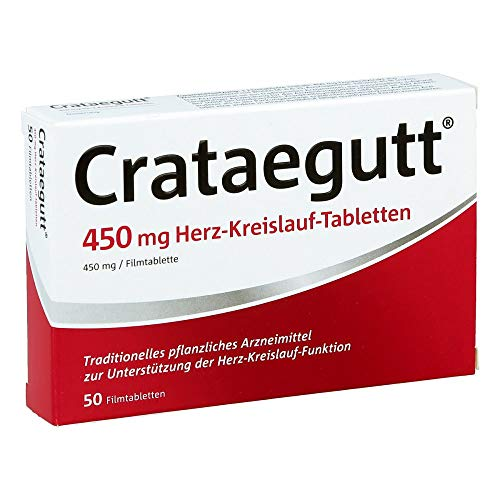 Crataegutt 450 mg Herz-kr 50 stk