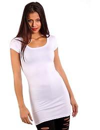 Young Fashion T-shirt Long Mini robe