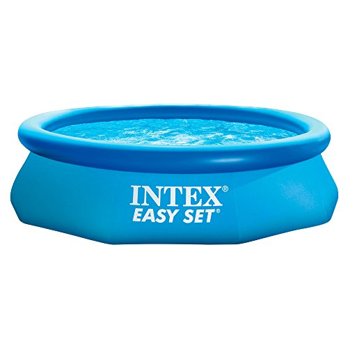 Intex piscine easy set pools de support bleu 123jeu for Easy piscine