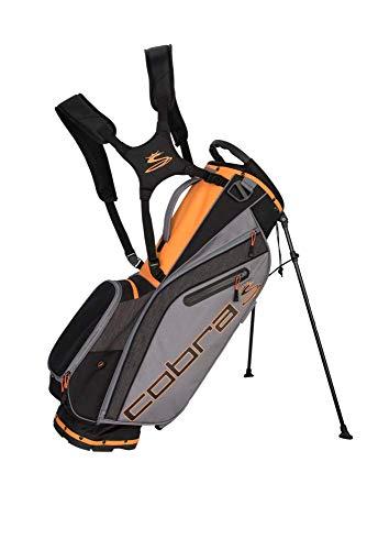Cobra Golf 2019 Ultralight Standtasche, Unisex-Erwachsene, Ultralight Stand Bag Ul19, schwarz/orange, Einheitsgröße